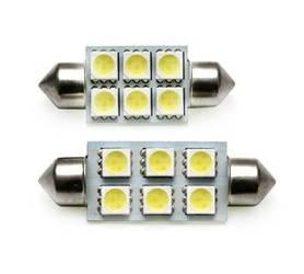 C5W LED Bulb Car 6 SMD 5050