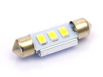 Car LED bulb C5W 3 5630 SMD CAN BUS