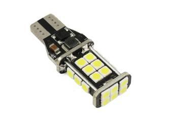 Car LED bulb W16W T15 24 SMD 2835 CANBUS