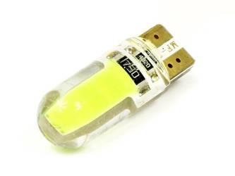 Car LED bulb W5W T10 1W COB 360st Silicone CAN BUS