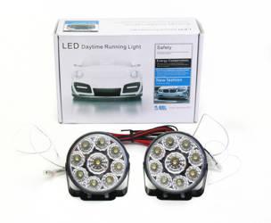 DRL 04 PREMIUM | Lights HIGH POWER LED daytime running | round  70 mm