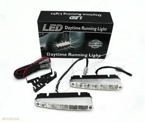 DRL 07 PREMIUM | Lights HIGH POWER LED daytime running | oblique
