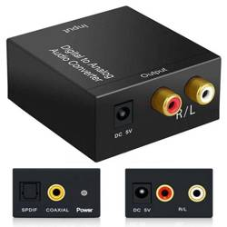 F101   AUDIO Signal Converter - Coaxial / SPDIF TOSLINE - RCA
