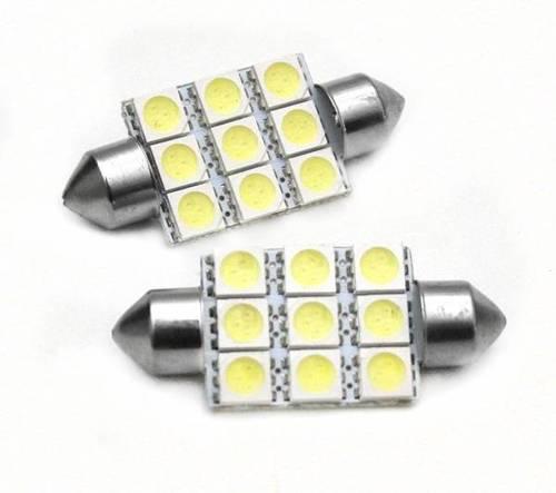 C5W LED Bulb Car 9 SMD 5050