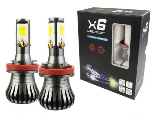 COB LED bulbs set H9 H11 DUAL COLOR JDM