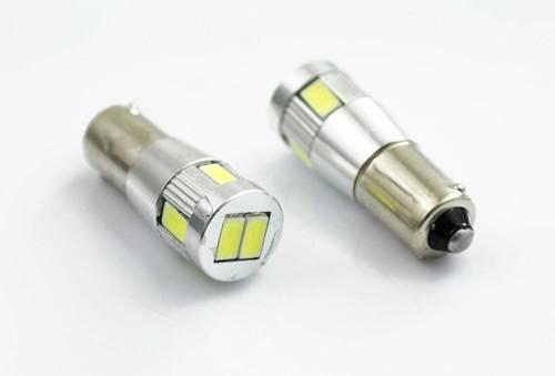 Car LED bulb BA9S 10 SMD 5630 POWER CAN BUS