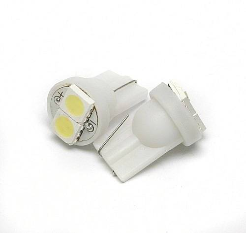 Car LED bulb W5W T10 2 SMD 5050