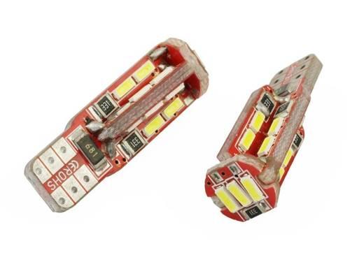 Car LED bulb W5W T10 4014 19 SMD CAN BUS