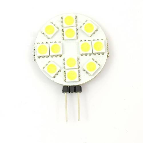G4 bulb 12 SMD 5050 FLAT