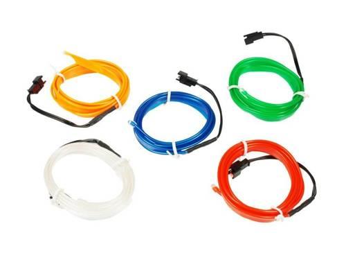 Kit - Optical Ambient Light EL Wire Inverter with 12V | 1 meter