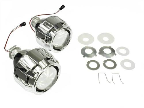 Kit lenses with adapters and grille E46