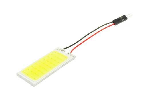 LED COB 36-chip 3x12 panel + W5W, C5W, T4W adapters