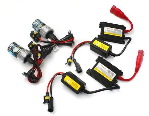 Lighting set XENON H4 S / L DC HID SLIM