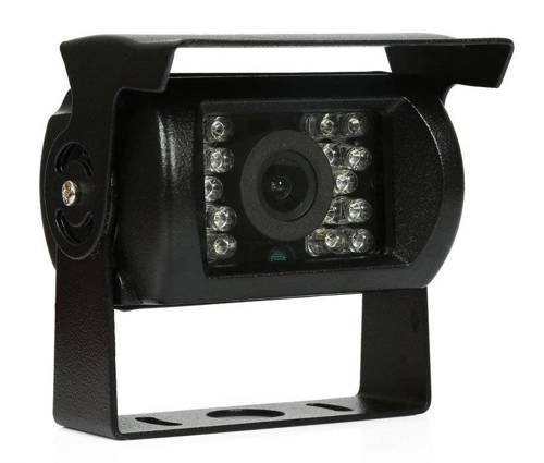PZ470 | Reversing camera 12-24V 18IR with roof, in set with 10 m long AV cable