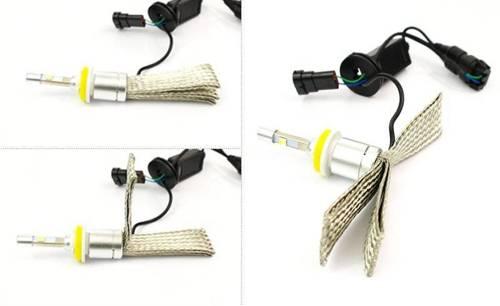Set CREE LED H9 H11 TrueWhite ™ Technology 9600 lm R3