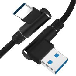 AM30   Typ-C 1M   Abgewinkelte USB-Kabel Ihr Telefon aufzuladen   Quick Charge 3.0 2.4A