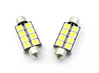 Auto-LED-Lampe C5W 8 5050 SMD CAN BUS