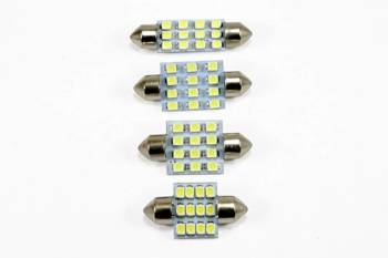 C5W LED-Birnen-Auto 12 SMD 1210