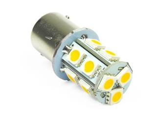WW LED-Birnen-Auto BA15S 13 SMD 5050 White Heat