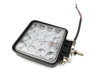 Lampa robocza 16 X 3W kwadratowa