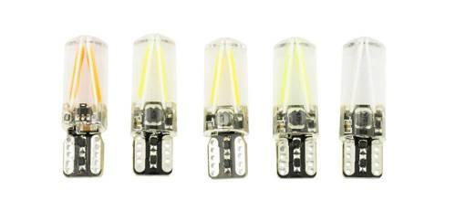 Auto-Birnen-T10 W5W COB LED 12V 24V 360 * Glühfaden