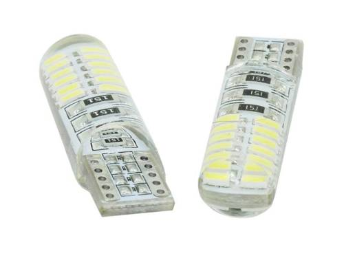Auto-LED-Lampe W5W T10 4014 24 SMD CAN-BUS-Silikon