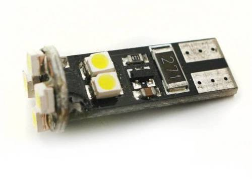 Auto-LED-Lampe W5W T10 8 SMD 3528 CAN BUS