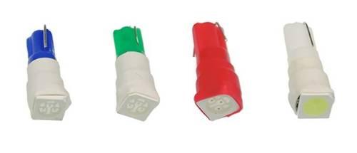 Automobil-LED-Lampe W2W W1,2W R5 T5 1 SMD 5050