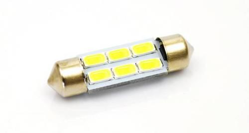 C5W LED-Birnen-Auto 6 SMD 5630