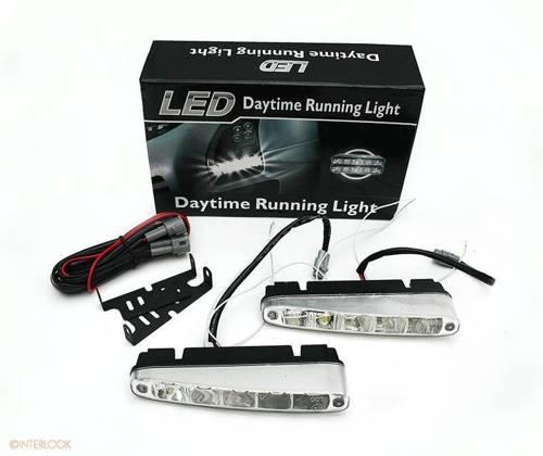 DRL 07 PREMIUM | Leuchtet HIGH POWER LED Tagfahrlicht | schräg