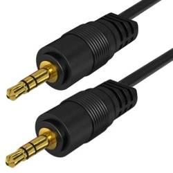 AC-1-3M-Black | Kabel Jack z oplotem