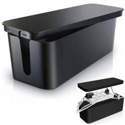 CB-L | Organizer do kabli typu BOX | Pojemnik na listwy i kable | Pudełko BOX