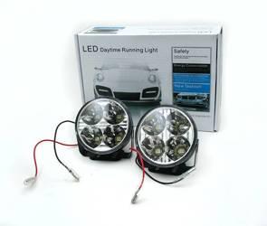 DRL 05   Światła LED do jazdy dziennej   okrągłe ø 70 mm