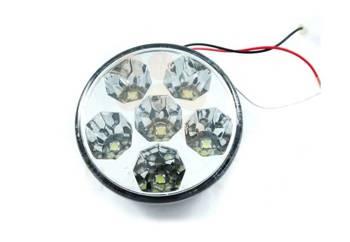 DRL 13 PREMIUM   Światła HIGH POWER LED do jazdy dziennej   okrągłe ø 90 mM