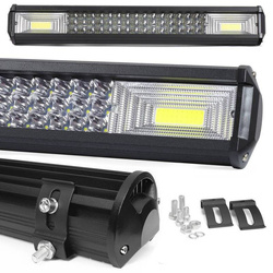 LB-COB-288W   Lampa robocza COB   2x High Power COB 72W   48 diod LED CREE 3W