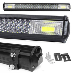 LB-COB-360W   Lampa robocza COB   2x High Power COB 72W   72 diody LED CREE 3W