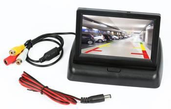 "PZ704   Panoramiczny, składany monitor TFT LCD 4,3"""