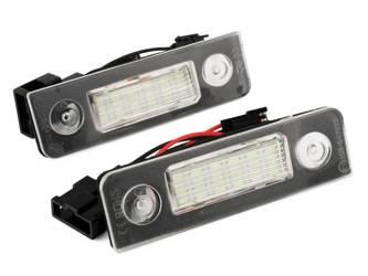 PZD0055 Podświetlenie tablicy rejestracyjnej LED SKODA OCTAVIA II 2, ROOMSTER