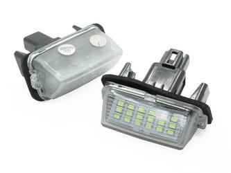PZD0070 Podświetlenie tablicy rejestracyjnej LED TOYOTA Avensis, Corolla, Camry, Prius, Verso