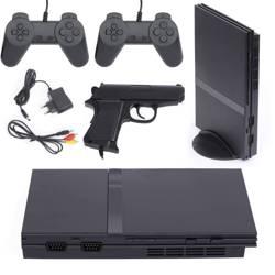 RS-79 | Retro konsola do gier TV | 2 pady + pistolet | 16 wbudowanych gier 8-bit