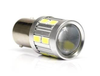 Żarówka samochodowa LED BA15S 5W CREE + 12 SMD 5050