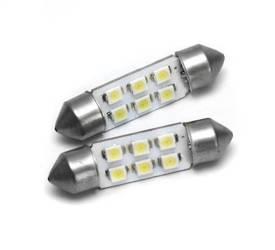 Żarówka samochodowa LED C5W 6 SMD 1210