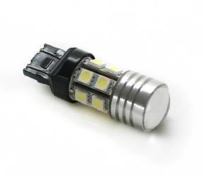 Żarówka samochodowa LED T20 W21/5W 5W CREE + 12 SMD 5050