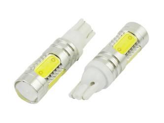 Żarówka samochodowa LED W5W T10 COB 7,5W