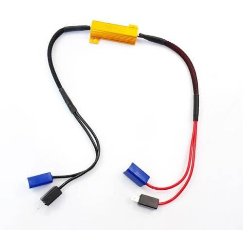D-50W-8-H3 | Filtr LED CAN BUS 50W 8Ω - oprawka H3