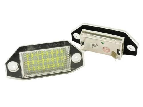 PZD0050 Lampki podświetlenia tablicy rejestracyjnej LED FORD MONDEO MK III 2000-2007
