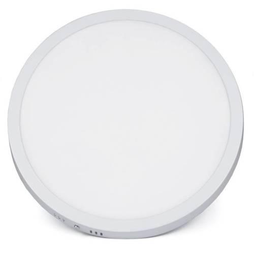 SY-SR124 | Okrągły plafon LED 24W | Niemrugający CCD panel natynkowy