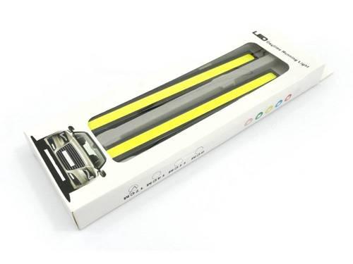 Światła LED COB do jazdy dziennej   17 cm    2x 6W    DRL COB