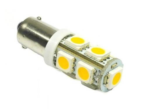WW Żarówka samochodowa LED BA9S 9 SMD 5050 Biała ciepła