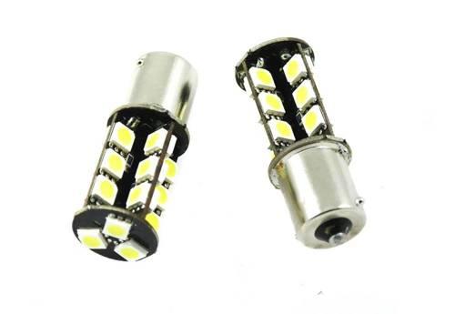 Żarówka samochodowa LED BA15S 27 SMD 5050 CAN BUS